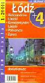 Łódź plus 4 plan miasta