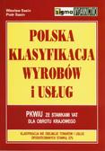 Sasin W., Sasin P. - Polska Klasyfikacja Wyrobów i Usług (PKWiU) ze stawkami VAT dla obrotu krajowego