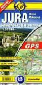 Jura Krakowsko Częstochowska Część Północna Mapa laminowana 1:52 000