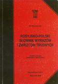 Wawrzyńczyk Jan - Rosyjsko-polski słownik wyrazów i zwrotów trudnych