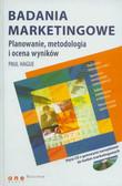 Hague Paul - Badania marketingowe. Planowanie, metodologia i ocena wyników (+CD)