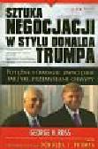 Ross George H. - Sztuka negocjacji w stylu Donalda Trumpa