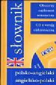 Słownik polsko angielski angielsko polski  +CD