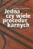 Światłowski Andrzej - Jedna czy wiele procedur karnych