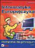 Pańczyk Jolanta - Informatyka Europejczyka. Podręcznik dla gimnazjum część 1 + CD