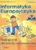 Danuta Kiałka i inni - Informatyka Europejczyka. Podręcznik dla szkoły podstawowej kl. IV - VI + CD