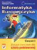 Kiałka Danuta, Kiałka Katarzyna - Informatyka Europejczyka Część 1 Zeszyt ćwiczeń. Szkoła podstawowa