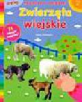 Zwierzęta wiejskie Książeczka z naklejkami