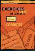 Exercices d'oral en contexte niveau debutant corriges Odpowiedzi dla poczatkujących