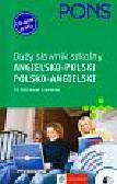 Pons duży słownik szkolny angielsko-polski polsko-angielski z płytą CD