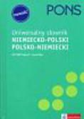 Pons Uniwersalny słownik niemiecko - polski, polsko - niemiecki