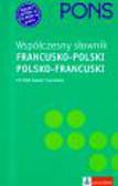Pons współczesny słownik francusko-polski polsko-francuski z płytą CD