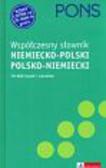 Petelenz Krzysztof (red.) - Pons Współczesny słownik niemiecko - polski, polsko - niemiecki + CD