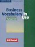 Mascull Bill - Business Vocabulary in Use Advanced