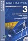 Pawłowski Henryk - Matematyka 3 Zbiór zadań linia 1 ponadstandardowa. zakres podstawowy i rozszerzony