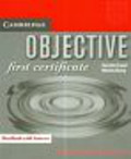 Capel Annette, Sharp Wendy - Objective first certificate