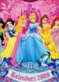 Kalendarz 2009 ścienny Księżniczki