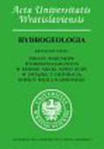 Chudy Krzysztof - Zmiany warunków hydrogeologicznych w rejonie niecki Nowej Rudy w związku z likwidacją kopalni węgla