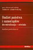 Lubińska Teresa - Budżet państwa i samorządów decentralizacja-oświata