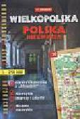 Wielkopolska Polska Niezwykła turystyczny atlas samochodowy