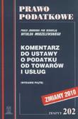 Modzelewski Witold (red.) - Komentarz do ustawy o podatku od towarów i usług