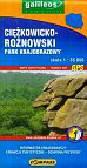 Ciężkowicko Rożnowski Park Krajobrazowy Mapa turystyczna 1: 35 000