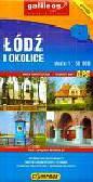 Łódź i okolice Mapa turystyczna 1: 50 000