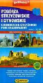 Pogórza Strzyżowskie i Dynowskie Mapa turystyczna 1: 50 000