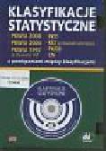 Klasyfikacje statystyczne: PKWiU 2008, PKWiU 2004, PKWiU 1997 ze stawkami VAT, PKD, KŚT ze stawkami amortyzacji, PKOB, CN – z powiązaniami między klasyfikacjami. Płyta CD