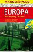 opracowanie zbiorowe - Europa Atlas drogowy 1:800000 MP
