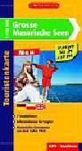 Grosse Masurische Seen touristenkarte