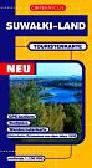 Suwałki-Land touristenkarte