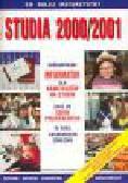Studia 2000/2001. Ogólnopolski informator dla kandydatów na studia oraz do szkół policealnych w roku akademickim 2000/2001