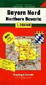 Bayern Nord road map 1: 200 000