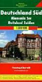 Germany South autokarte