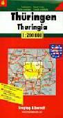 Thuringe road map