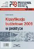 Gąsiorek Krystyna - Klasyfikacja budżetowa 2009 w praktyce