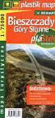 Bieszczady Góry Słonne mapa turystyczna