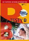 Testy B 30 testów jednokartkowych z płytą CD
