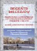 Górzyński Sławomir - Regestr diecezjów Franciszka Czaykowskiego czyli właściciele ziemscy w Koronie 1783-1784
