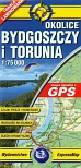 Okolice Bydgoszczy i Torunia mapa