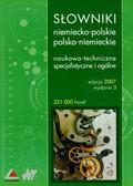 Słowniki niemiecko-polskie polsko-niemieckie, naukowo-techniczne specjalistyczne i ogólne (Płyta CD)