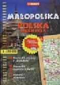 Małopolska Polska Atlas turystyczny samochodowy