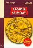 Skarga Piotr - Kazania Sejmowe. Lektura z opracowaniem