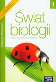 Świat biologii 1 Zeszyt ćwiczeń. Gimnazjum