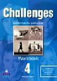 Maris Amanda - Challenges 4 Workbook. Gimnazjum