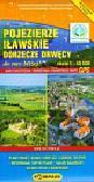 Pojezierze Iławskie Dorzecze Drwęcy mapa turystyczna