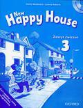 Maidment Stella, Roberts Lorena - New Happy House 3 Zeszyt ćwiczeń z płytą CD