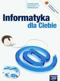 Durka Piotr Jerzy - Informatyka dla Ciebie 1-3 Podręcznik z płytą CD. Gimnazjum