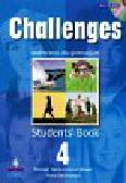 Harris Michael, Mower David, Sikorzyńska Anna - Challenges 4 Students` Book with CD. Gimnazjum